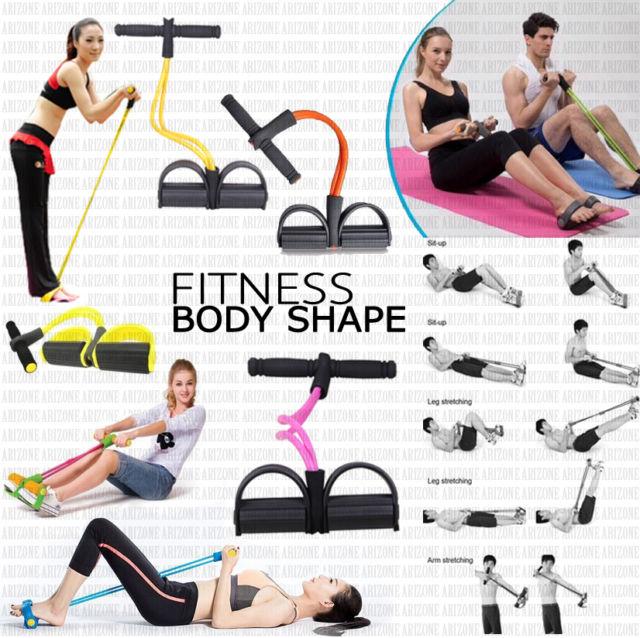 ยางยืดออกกำลังกายให้คุณลองบริหารได้หลายท่วงท่าไม่มีเบื่อ