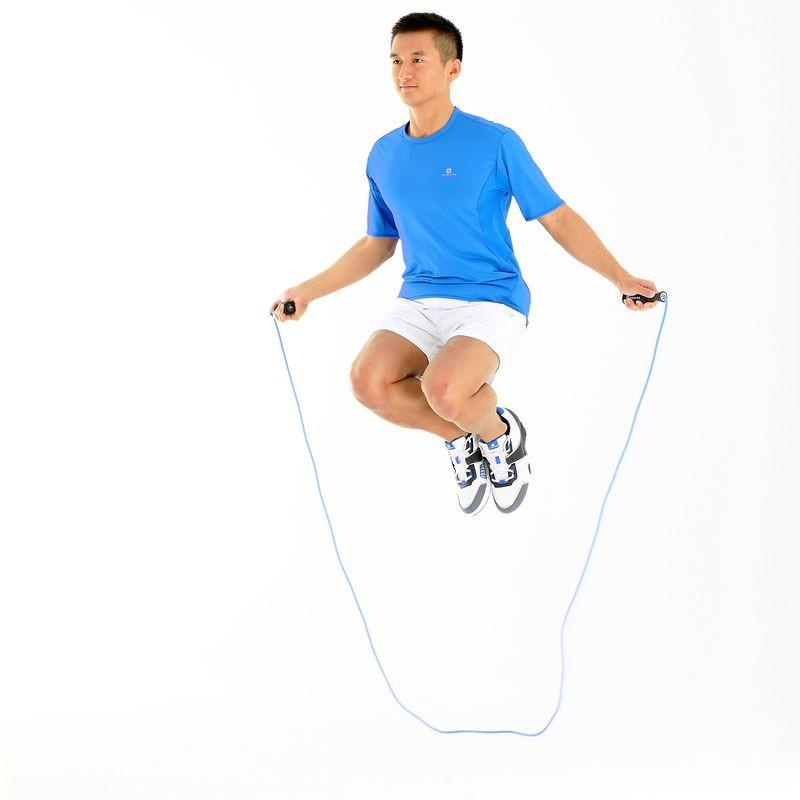 ย้อนไวไปเป็นเด็กด้วยเชือกกระโดดเพลิดเพลิน แถมเบิร์นดีด้วย