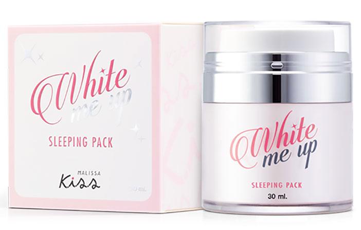 Malissa Kiss White Me Up Sleeping Pack