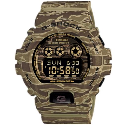 Casio G-Shock นาฬิกาข้อมือ สายเรซิ่น รุ่น GD-X6900CM-5DR - ลายทหาร