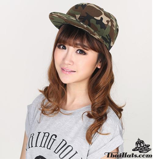 หมวกลายทหารทรงฮิปฮอป