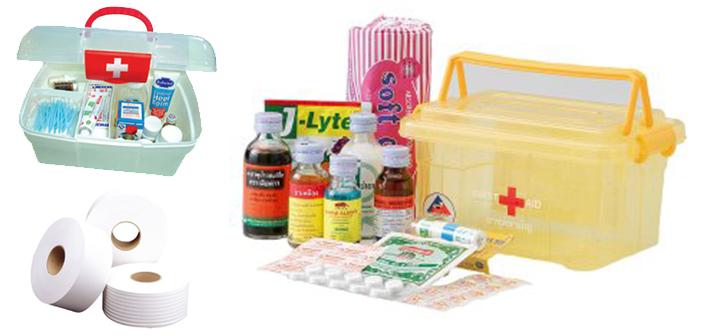 ยารักษาโรค ของใช้ส่วนตัว กระดาษชำระ
