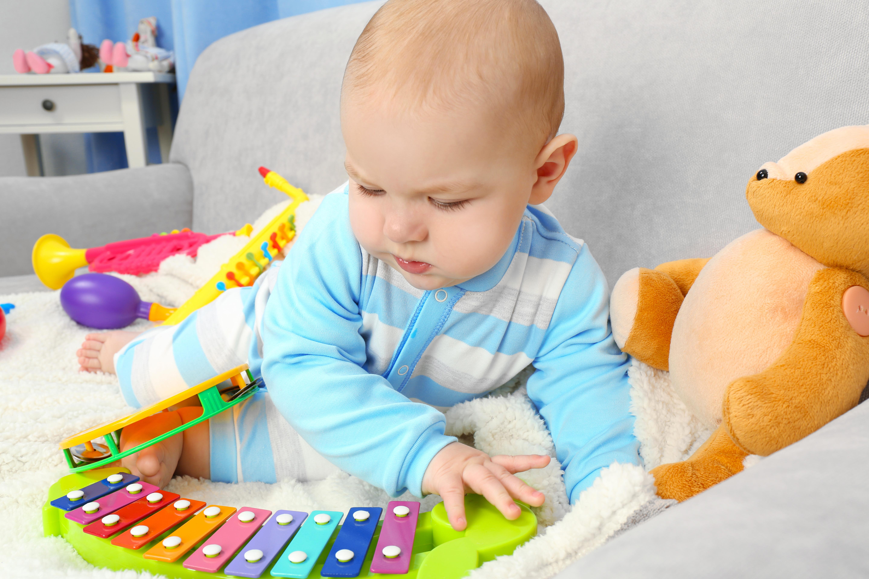 ของเล่นเด็กที่มีเสียงเพลง