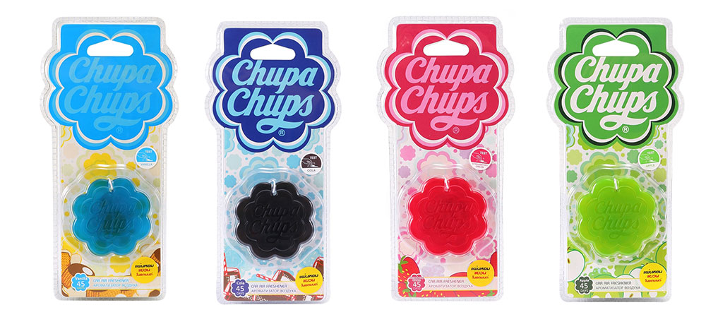 Chupa Chups น้ำหอมที่เป็นอุปกรณ์ตกแต่งรถยนต์