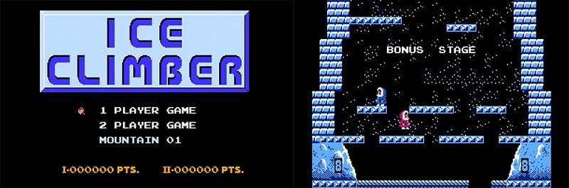 เกม Ice Climber