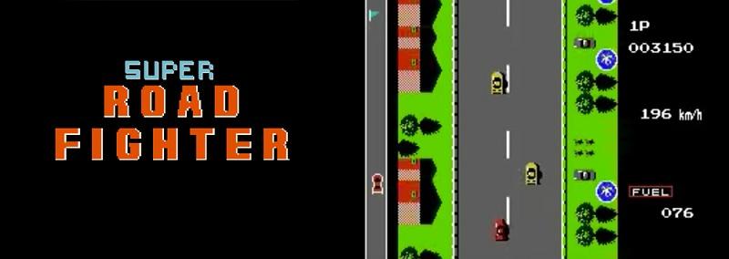 เกม Road fighter