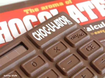 เครื่องคิดเลขช็อกโกแลต
