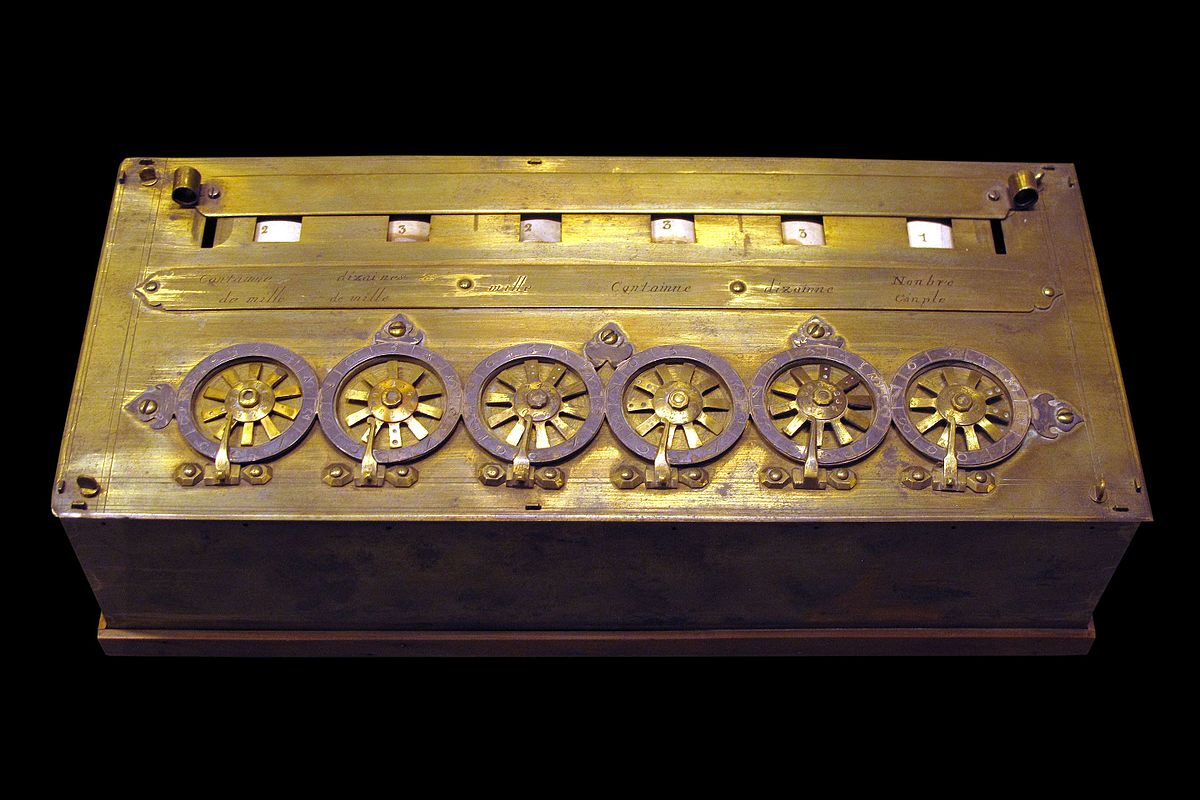 เครื่องคิดเลขของเบล์ส ปาสคาล (Blaise Pascal)