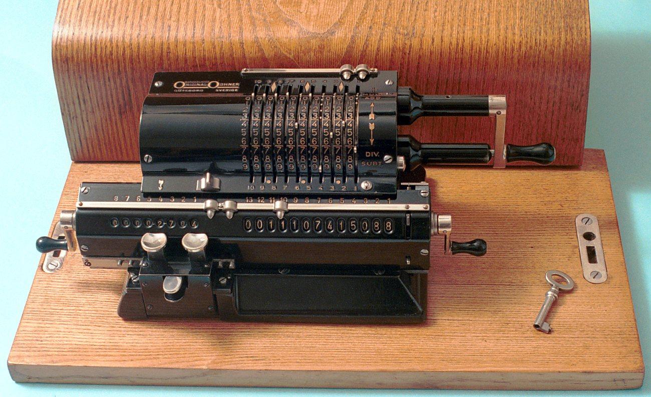 อาริทโมมิเตอร์ (Arithmometer Machine)