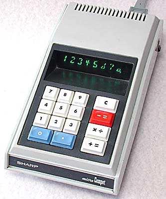 เครื่องคิดเลข Sharp QT-8D