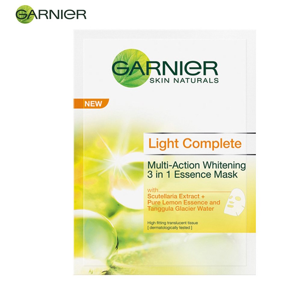 Garnier Light 3 in 1  Whitening Essence Mask