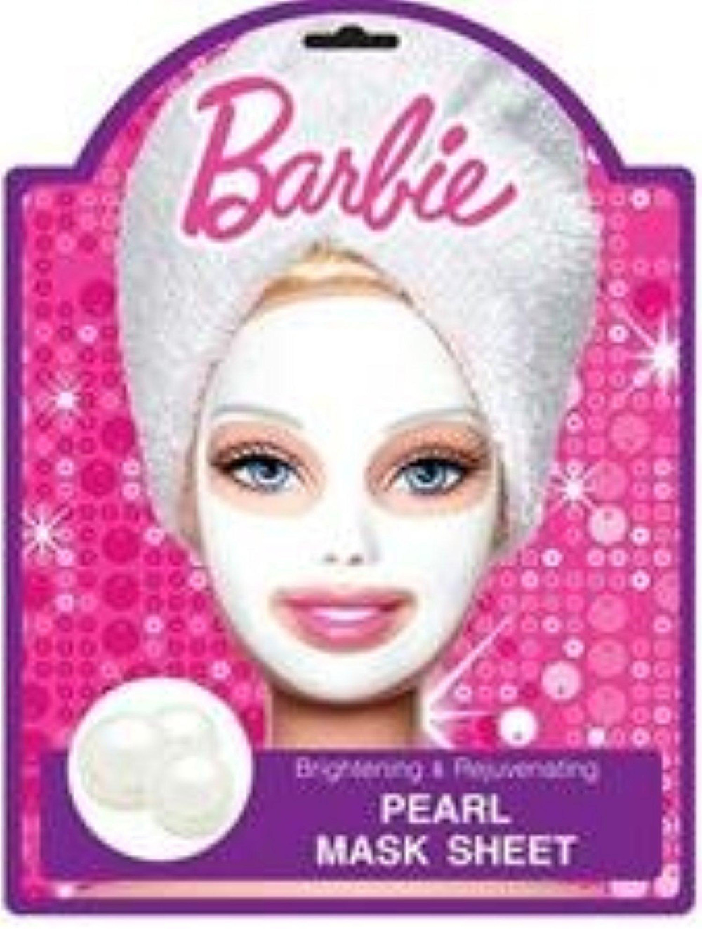 Barbie Pearl Mask Sheet
