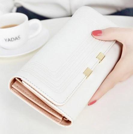 กระเป๋าสตางค์-สีขาว