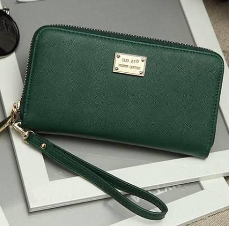 กระเป๋าสตางค์-สีเขียว