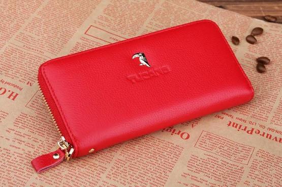 กระเป๋าสตางค์-สีแดง