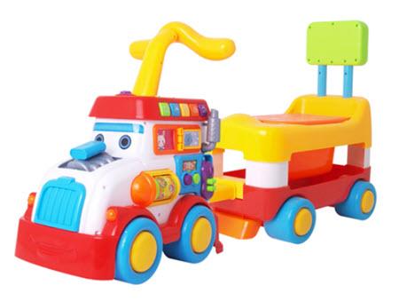 รถหัดเดินพร้อมกระโถน Toilet Car 2 in 1 Walker