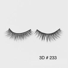 ขนตาปลอม 3D Faux Mink Double Silk Lashes-233