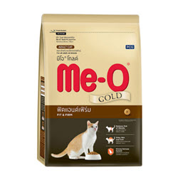 อาหารแมว-Meo Gold Fit & Firm