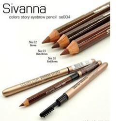 Sivanna Colors Waterproof Silky Eyebrow Pencil ES004-shop
