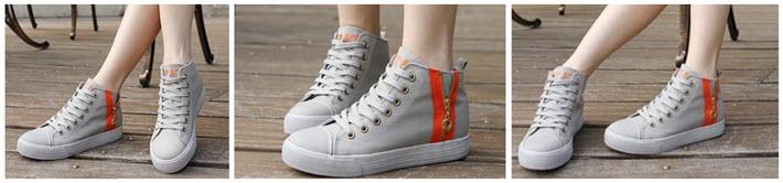 P02-แฟชั่นรองเท้าผ้าใบหุ้มข้อ