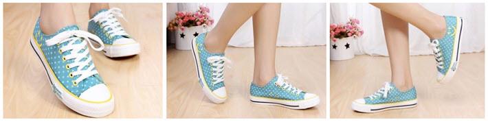 P04-รองเท้าผ้าใบแฟชั่น-สีเขียว