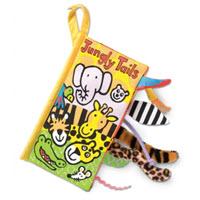 01-หนังสือผ้า Jungle Tail